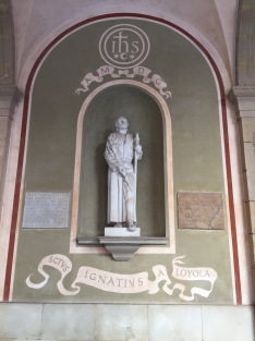 St. Ignatius Loyola, the first Jesuit, and the saint whose name IJohn took at confirmation