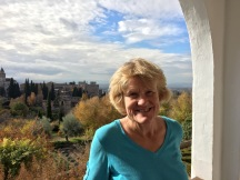 Lynnell at the Alhambra, Granada