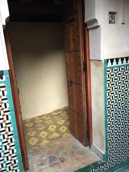 Bou Inania Madrasa dorm room