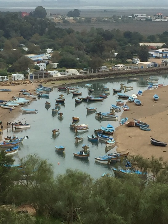 Moulay-Bousselham harbor