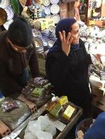 Cooking Teacher Explaining Spices, Fes, Morocco