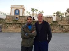 Amine and John, Casablanca