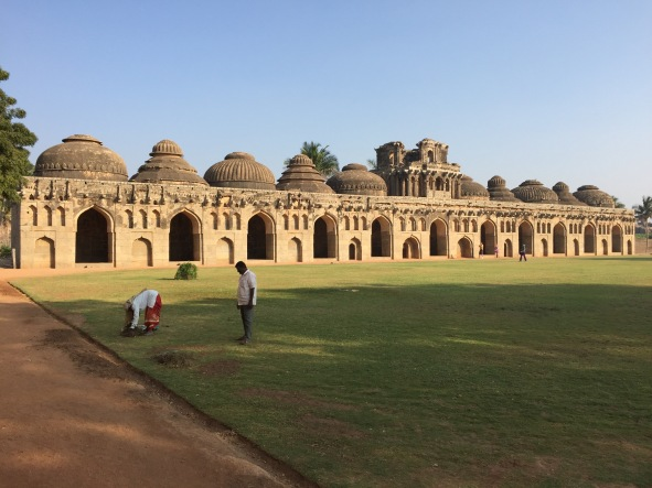 Elephant Stables at Hampi