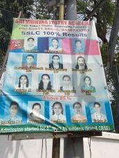 Honor Roll Pictures on Telephone Pole, Kochi, India