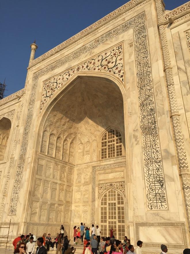 Qur'an Inscription, Taj Mahal