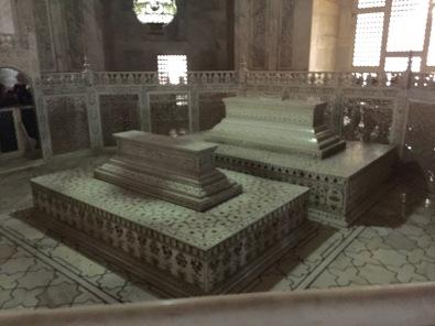 False Crypts of Shah Jehan and Mumtaz, Taj Mahal