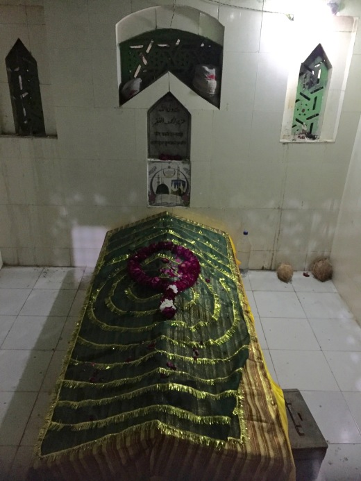 Shrine to SUfi Saint in John and Moses' garden, Agra
