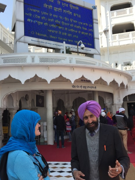 Davinder, Lynnell, and Jumbotron Lyrics of Live Music, Golden Temple