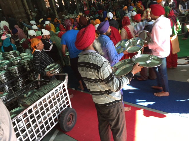 Handing Out Dishes To ANyone, Golden Temple