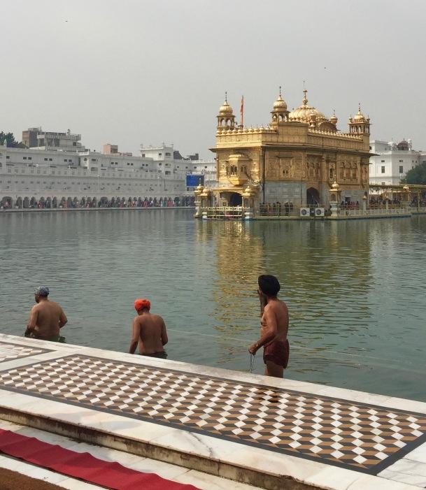 Bathing, Golden Temple
