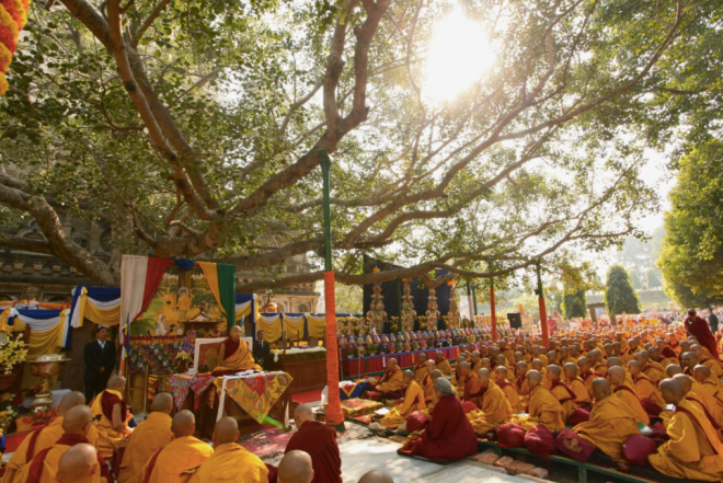 monks-opening-day-kagyumonlam