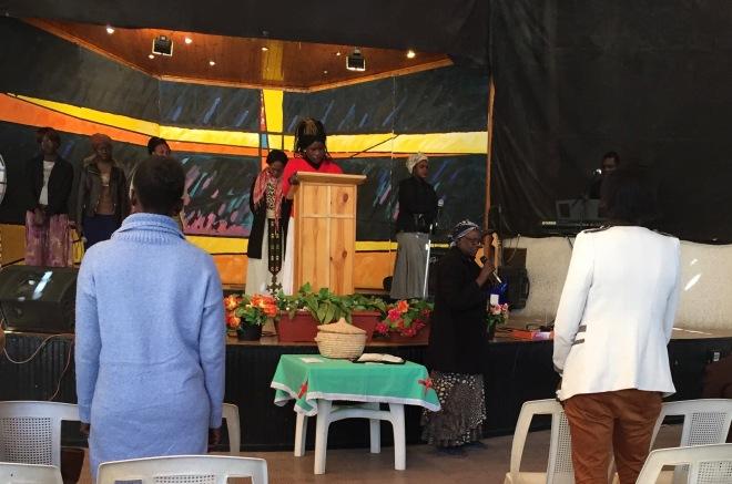 Sudanese Church Service, St. John's Maadi
