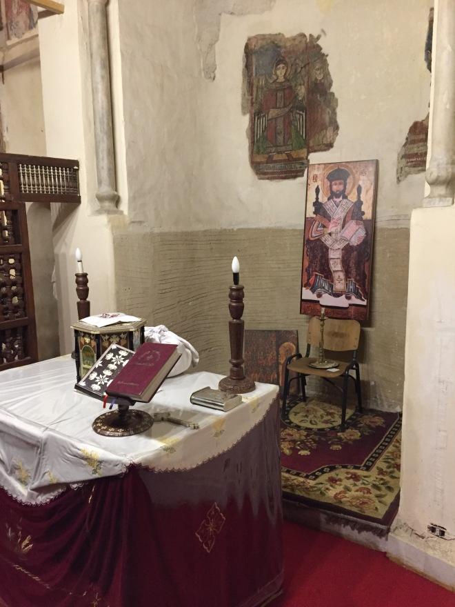 Altar, Hanging Church, Cairo
