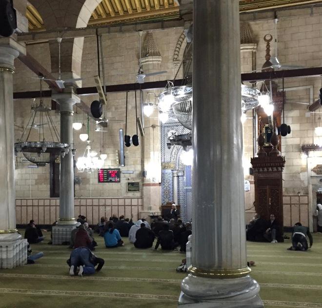 Sermon, Imam Hussein Mosque, Cairo