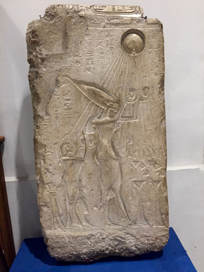 Akhenaten the Monotheist, Egyptian Museum, Tahrir Square, Cairo