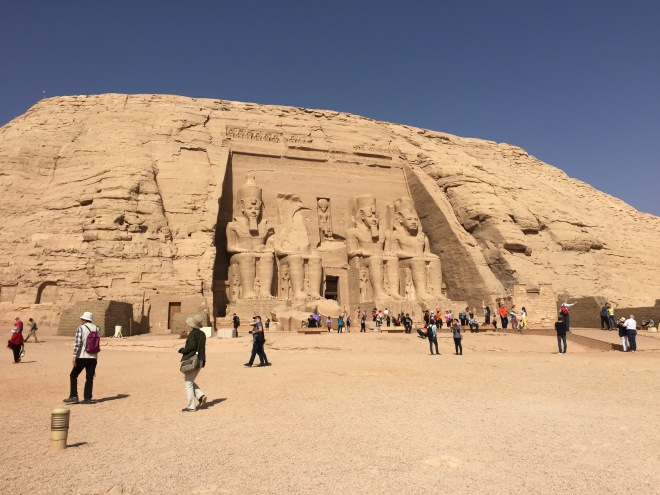 Rameses II Temple at Abu SImbel