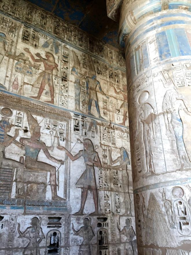 Habu Temple, Luxor West Bank