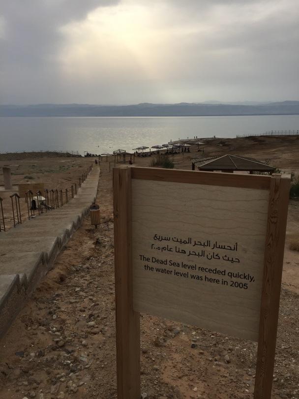 Dead Sea Level 2005
