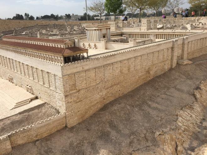 Model of Jerusalem, 63 CE