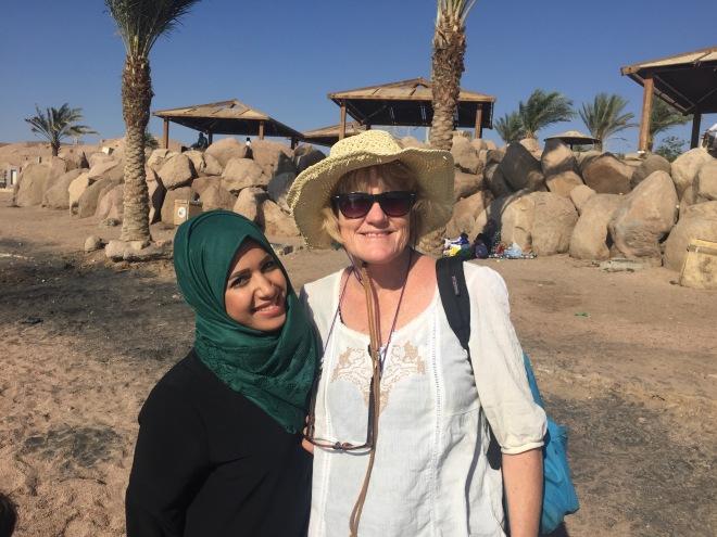 LM on Muslim beach 2