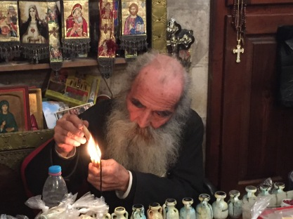 Greek Orthodox Priest and Icon Painter, Nablus
