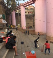 Ghat Cricket in Varanasi