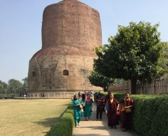 Ancient Stupa in Sarnath
