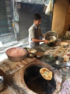 Making Kulcha In Amritsar