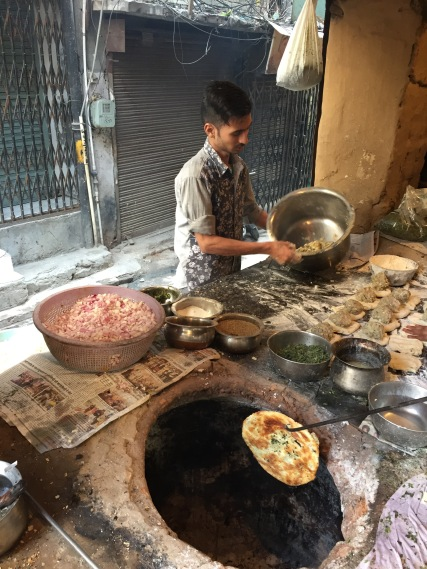 Making Kulcha In Amritsar