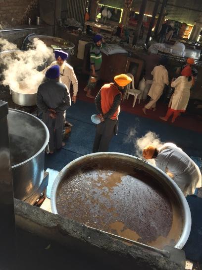 Lentil Cooking, Golden Temple, Amritsar