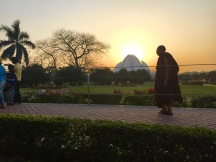 Sunset at Baha'i Lotus Temple, Delhi