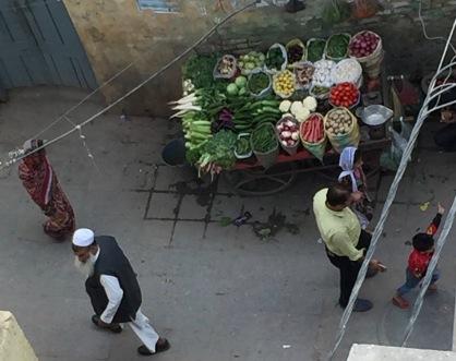 Vegetables Near Nizamuddin Shrine, Delhi