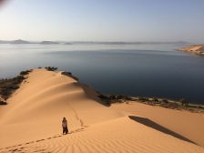 Climbing A Dune