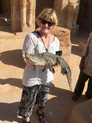 The Only Nile Crocodile We Ever Saw Was A Tourist Photo Prop
