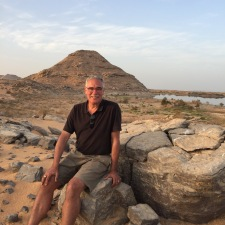 John at Sunset, Lake Nasser