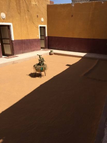 Nubian Village Courtyard