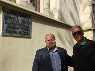 Pastor Reddy and John in Alexandria