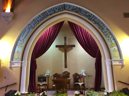 Sanctuary of Protestant Church, Alexandria