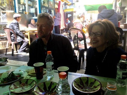 Our Hosts, Dr. Doug and Patti Magnuson, in Amman