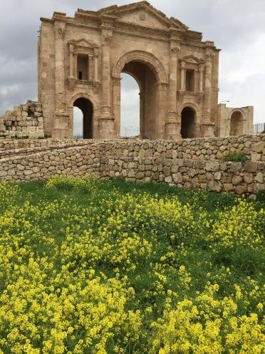 Hadrian's Gate, Jerash, Jordan