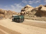 Desert Zamboni, Petra, Jordan