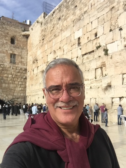 John At Judaism's Most Sacred Place