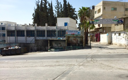 Entrance to Batala Refugee Camp, Nablus