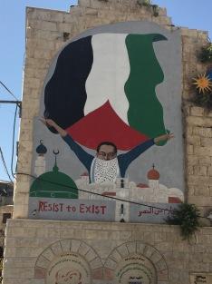 Nablus Mural