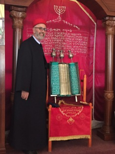 Samaritan Priest, Nablus (Schechem)