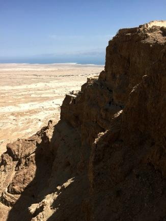 Masada and The Dead Sea