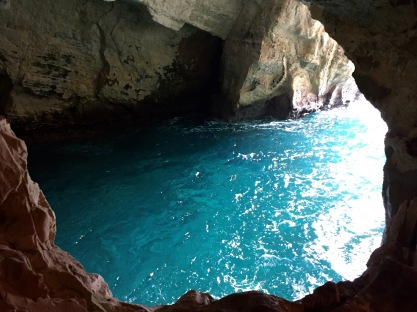 Sea Caverns at Rosh Ha Nikra, Israel-Lebanon Border