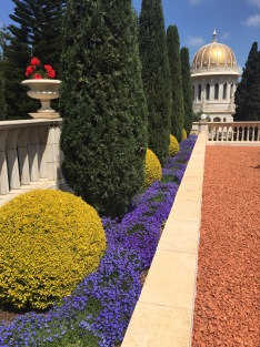 Spheres and Colors, Baha'i Gardens, Haifa
