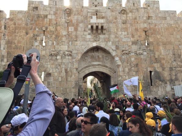 St. Stephen's or Lion's Gate, Jerusalem's East Side