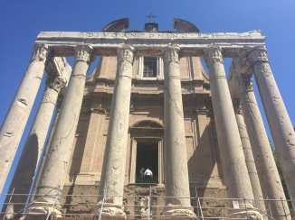 Temple and Church, Roman Forum